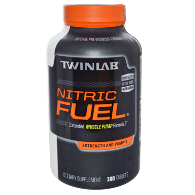 Twinlab Nitric Fuel Extended Muscle Pump Formula - 180 Tablets: HF