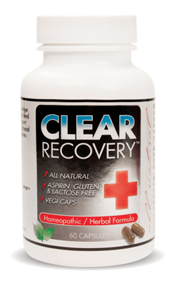 Clear Products Clear Recovery - 60 Cap: HF