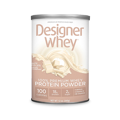 Designer Whey Protein - White Chocolate - 12 oz: HF
