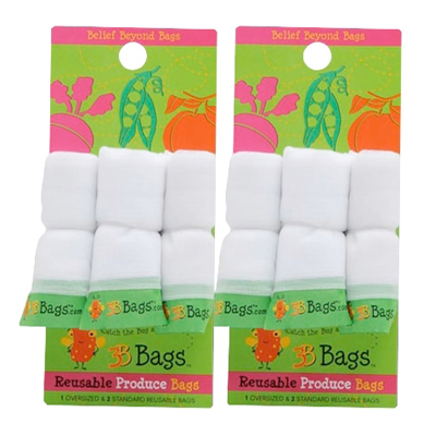 3B Bags Reusable Produce Bags - 3 Count: HF