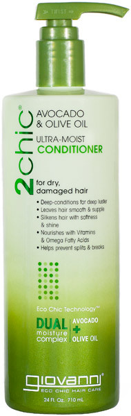 Giovanni Hair Care Products Conditioner - 2Chic Avocado and Olive Oil - 24 fl oz: HF