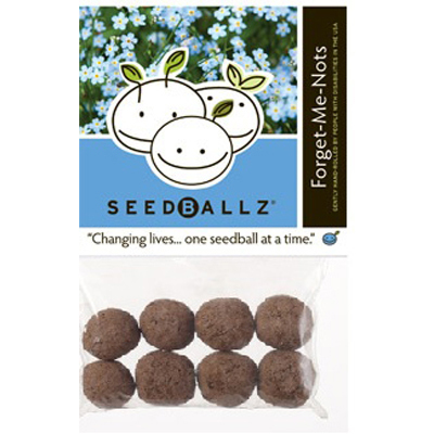 Seedballz Forget Me Not - 8 Pack: HF