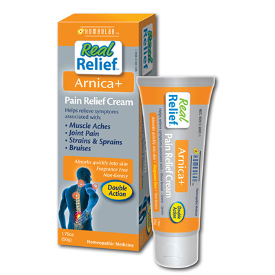 Homeolab USA Real Relief Arnica Pain Relief Cream - 1.76 oz: HF