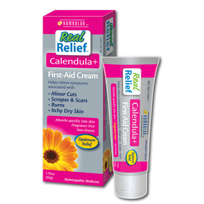 Homeolab USA Real Relief Calendula Pain Relief Cream - 1.76 oz : HF