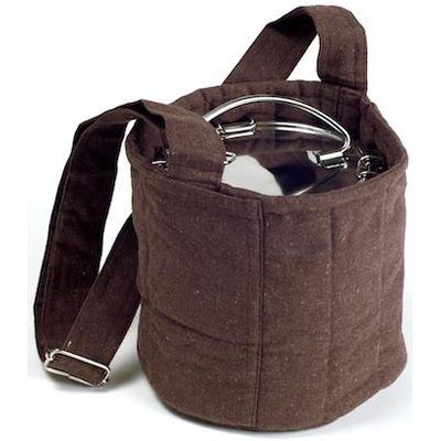 To-Go Ware 2 Tier Cotton Carrier Bag - Brown: HF
