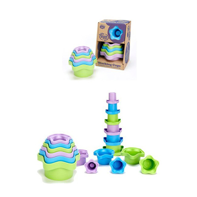 Green Toys Stacking Cups - 6 Cups: HF
