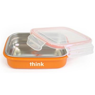 Thinkbaby BPA Free Bento Box - Orange: HF