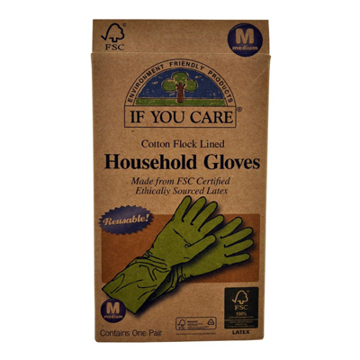 If You Care Household Gloves - Medium - 1 Pair: HF