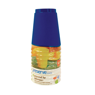 Preserve Tumblers Reusable Cups - Midnight Blue - 10 Pack - 16 oz.: HF