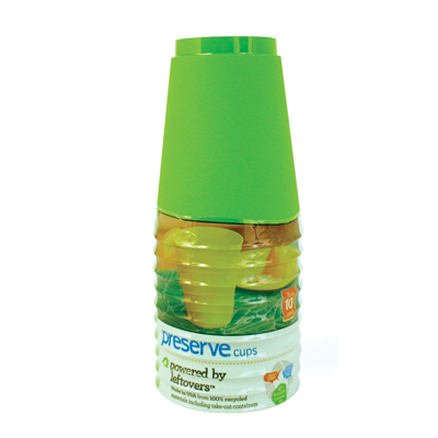 Preserve Tumblers Reusable Cups - Apple Green - 10 Pack - 16 oz.: HF