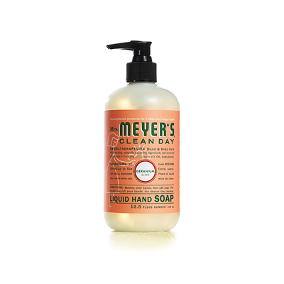 Mrs. Meyer's Liquid Hand Soap - Geranium - 12.5 oz: HF