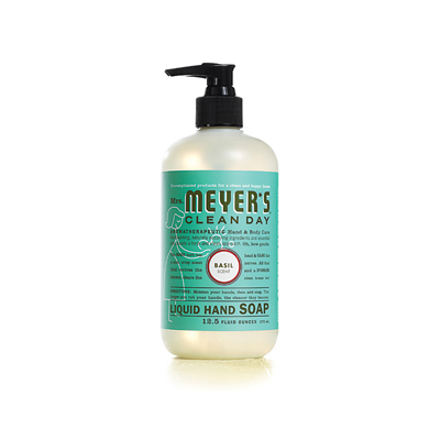 Mrs. Meyer's Liquid Hand Soap - Basil - 12.5 oz: HF