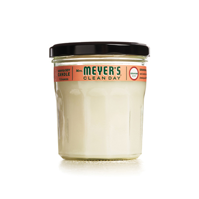 Mrs. Meyer's Soy Candle - Geranium - 7.2 oz Candle: HF