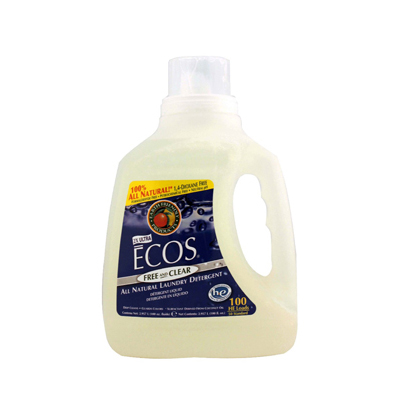 Earth Friendly Ecos Ultra 2x All Natural Laundry Detergent - Free and Clear - 100 fl oz: HF