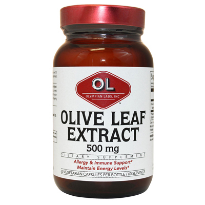 Olympian Labs Olive Leaf Extract - 500 mg - 60 capsules: HF
