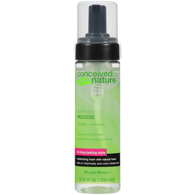 Conceived By Nature Mousse - Extra Hold - 6.76 fl oz: HF