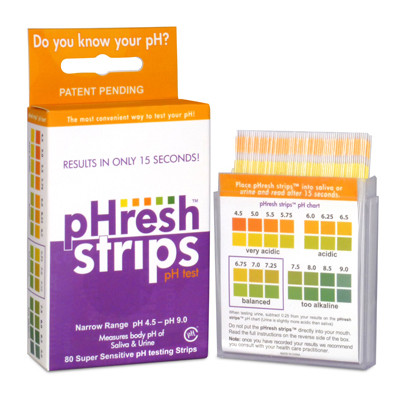 Phresh Products Ph Test Strips - 80 count: HF