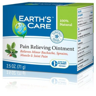 Earth's Care Pain Relieving Ointment - 2.5 oz: HF