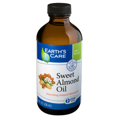 Earth's Care 100% Pure Sweet Almond Oil - 8 fl oz: HF