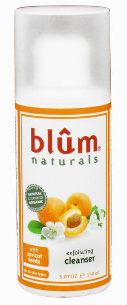 Blum Naturals Exfoliating Cleanser - with Apricot - 5.07 oz: HF