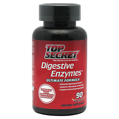 Top Secret Nutrition Digestive Enzymes - 90 capsules: HF