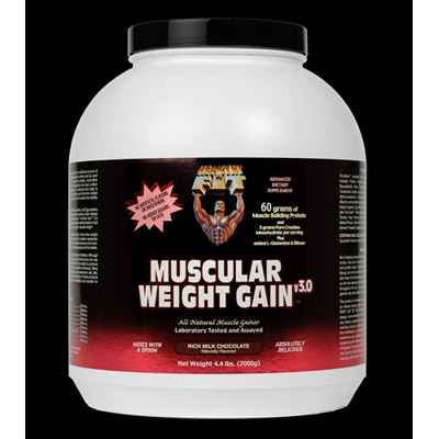 Healthy 'N Fit Muscular Weight Gain 3 - Chocolate - 4.4 lbs: HF