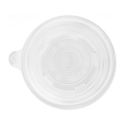 Eco-Products EcoLids Renewable and Compostable Food Container Lids - Fits 12, 16, and 32 oz - Case of 500: HF