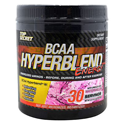 Top Secret Nutrition BCAA Hyperblend Energy - Watermelon - 5.92 oz : HF