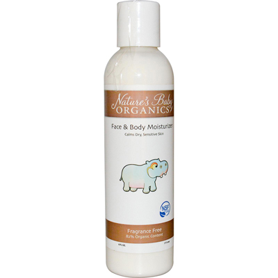 Nature's Baby Organics Face and Body Lotion - Fragrance Free - 6 fl oz: HF
