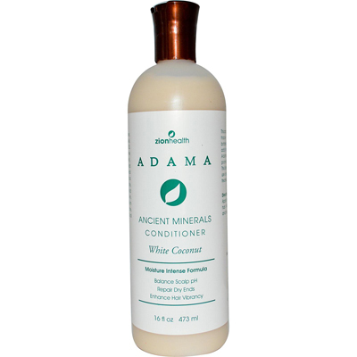 Zion Health Adama Minerals Anti Frizz Conditioner - White Coconut - 16 fl oz: HF