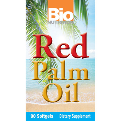 Bio Nutrition Red Palm Oil Caps - 90 Ct: HF
