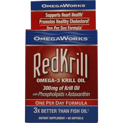 Omegaworks Red Krill - 60 Ct: HF