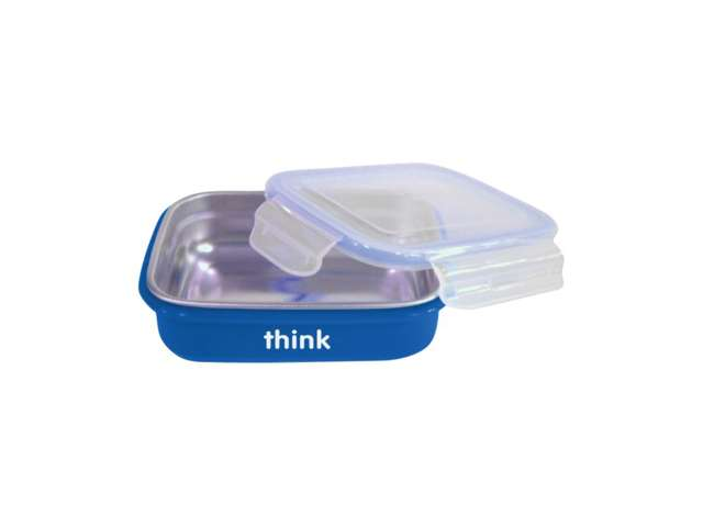 Thinkbaby Bento Box - BPA Free - Blue: HF