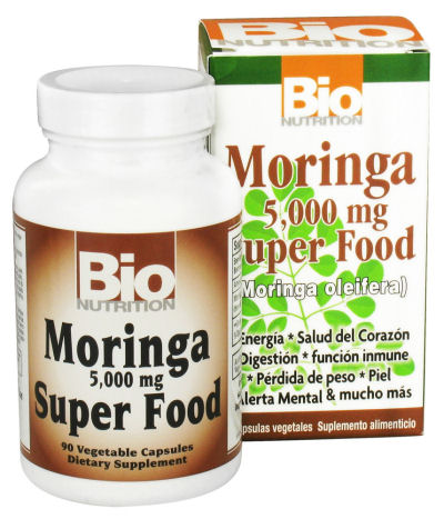 Bio Nutrition Moringa Superfood - 5000 mg - 90 Ct: HF