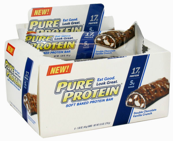 Pure Protein Bar - Soft Chocolate and Vanilla - 1.58 OZ - Case of 6: HF
