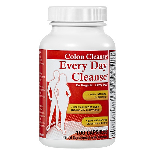 Health Plus Every Day Cleanse - 100 caps: HF