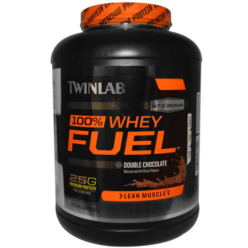 Twinlab 100% Whey Fuel - Chocolate - 5 lbs: HF