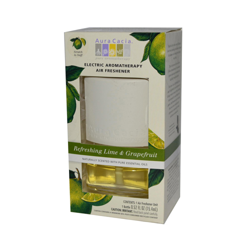 Aura Cacia Electric Air Freshener - Lime and Grapefruit - 3 Pack: HF