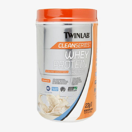 Twinlab Clean Series Whey Protein Isolate - Vanilla - 1.5 lb: HF