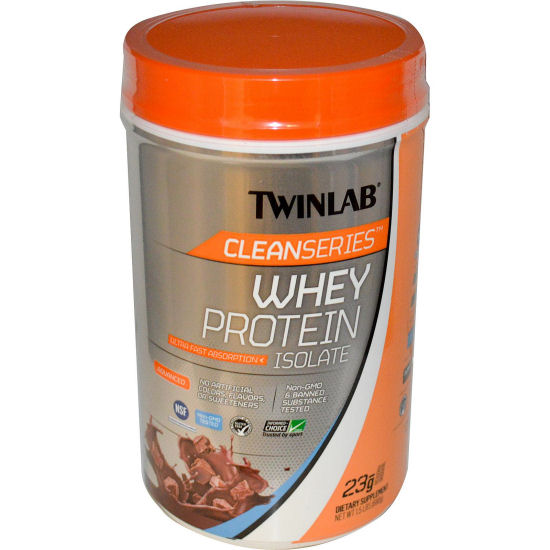 Twinlab Cleanseries Whey Protein Isolate - Chocolate - 1.5 lb: HF