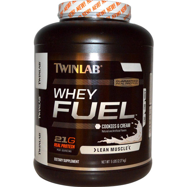Twinlab Whey Fuel - Cookies and Creme - 5 lb: HF