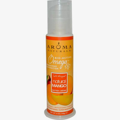 Aroma Naturals Omegax Soft Whipped Butter Creme - Natural Mango - 5 oz: HF