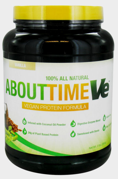 About Time Vegan Protein - Vanilla - 2 lbs: HF