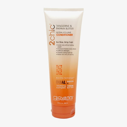 Giovanni Hair Care Products 2chic Conditioner - Ultra-Volume Tangerine and Papaya Butter - 8.5 fl oz: HF