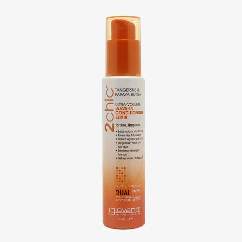 Giovanni Hair Care Products 2chic Conditioning Elixir - Ultra-Volume Tangerine and Papaya Butter - 4 fl oz: HF