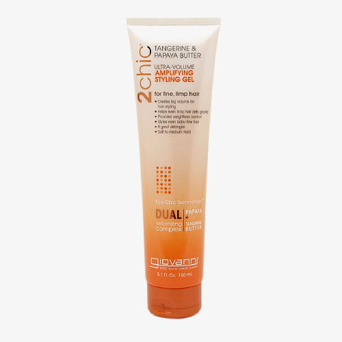 Giovanni Hair Care Products 2chic Style Gel Tangerine & Papaya Butter - Ultra-Volume - 5.1 fl oz: HF