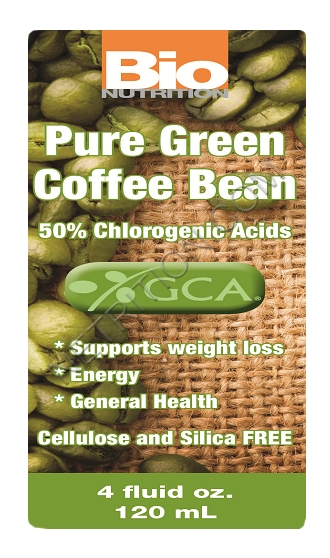 Bio Nutrition Pure Green Coffee Bean - 4 fl oz: HF