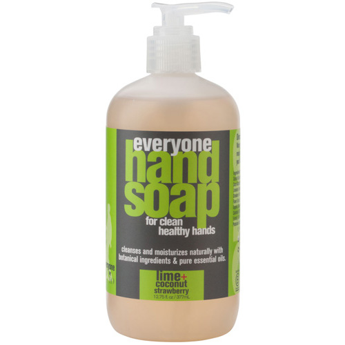 EO Products Everyone Hand Soap - Lime and Coconut with Strawberry - 12.75 oz: HF