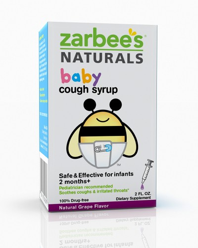Zarbee's Naturals Baby Cough Syrup - Grape - 2 oz: HF