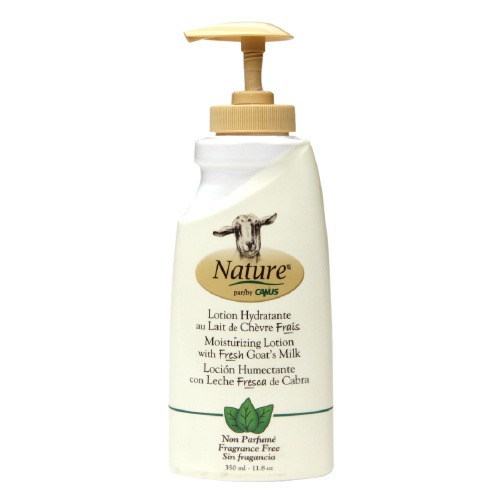 Nature By Canus Lotion - Goats Milk - Nature - Fragrance Free - 11.8 oz: HF